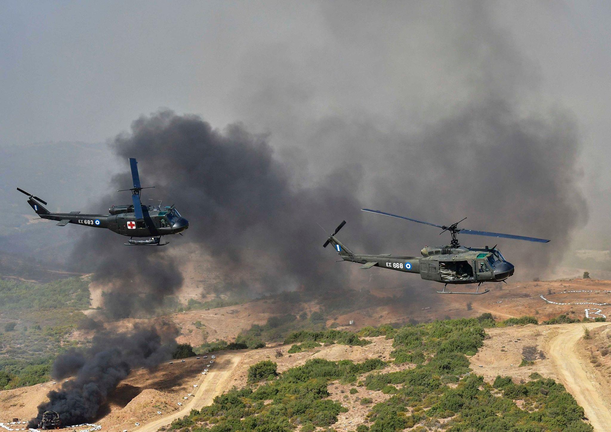 Αεροκίνηση με UH-1H Huey.